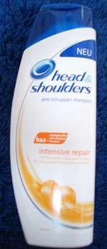 test shampoo head shoulders intensive repair anti schuppen shampoo testbericht von lola m. Black Bedroom Furniture Sets. Home Design Ideas