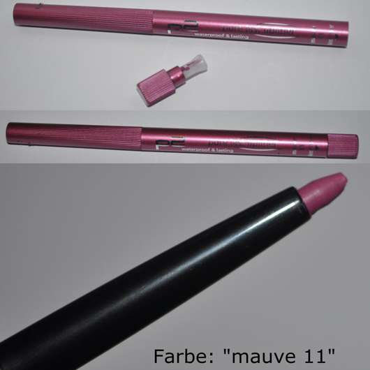 test lipliner p2 pure last lipliner farbe mauve 11 testbericht von annalina. Black Bedroom Furniture Sets. Home Design Ideas