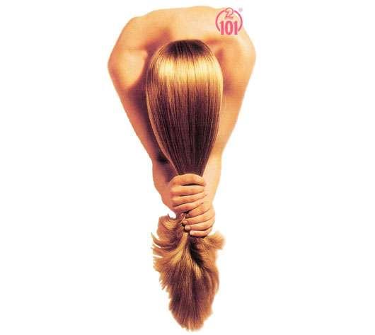 Es prolabiert das Haar auf einem Bereich des Kopfes was zu machen