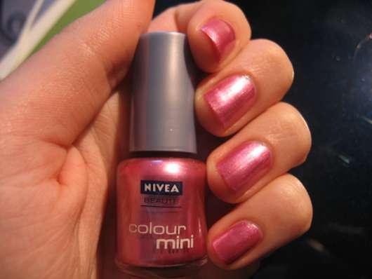 test nagellack nivea beaut colour mini farbe 33 intense pink testbericht von danny. Black Bedroom Furniture Sets. Home Design Ideas