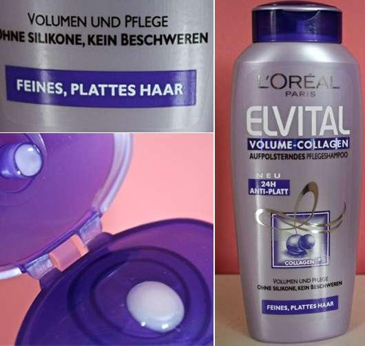 test shampoo l or al paris elvital volume collagen. Black Bedroom Furniture Sets. Home Design Ideas