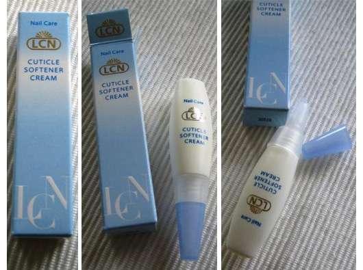 Test - Nagelpflege - LCN Nail Care Cuticle Softener Cream U2013 Reichhaltige Creme Zur Pflege Der ...