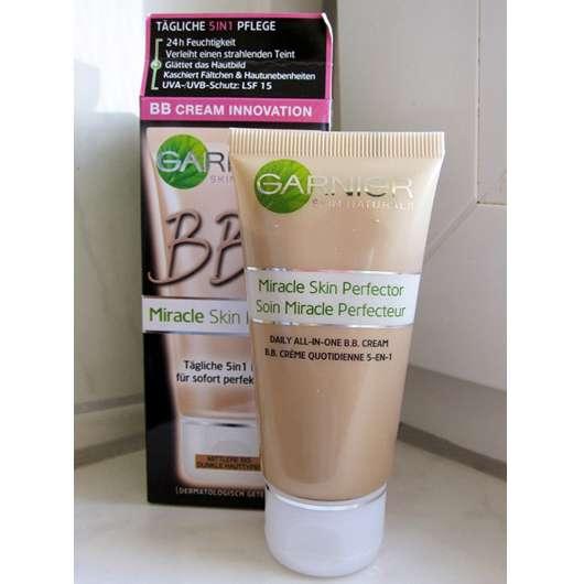 test get nte creme garnier skin naturals bb cream miracle skin perfector mittlerer bis. Black Bedroom Furniture Sets. Home Design Ideas