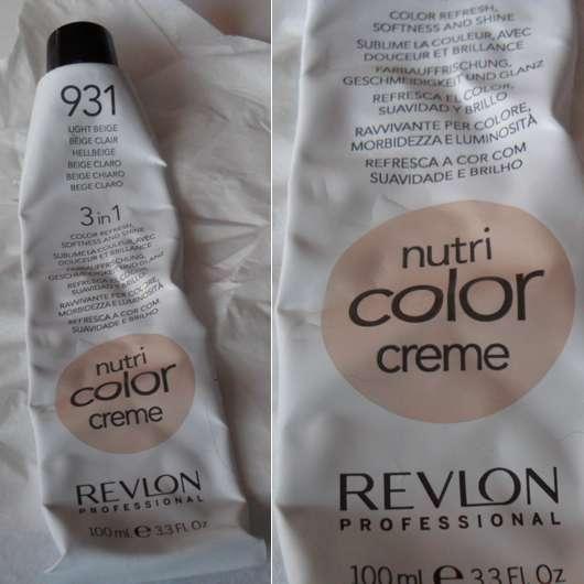 Test T 246 Nung Revlon Professional Nutri Color Creme 3in1