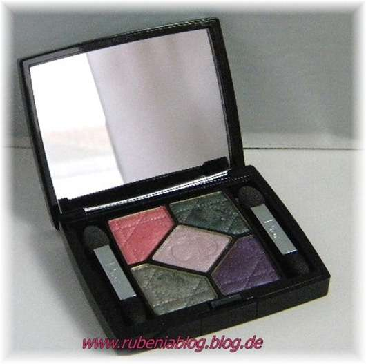 test eyeshadow dior 5 couleurs eyeshadow palette farbe 804 extase pinks testbericht von. Black Bedroom Furniture Sets. Home Design Ideas
