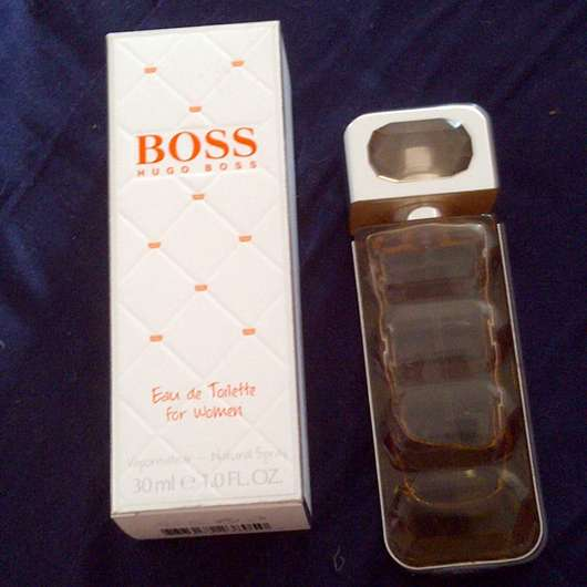 test damend fte boss orange eau de toilette for women testbericht von luischen. Black Bedroom Furniture Sets. Home Design Ideas