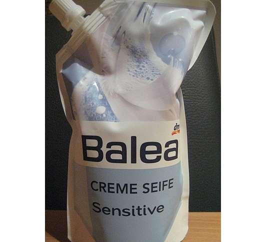 test fl ssigseife balea creme seife sensitive nachf llpack testbericht von esposa1969. Black Bedroom Furniture Sets. Home Design Ideas