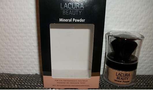 test puder lacura beauty mineral powder testbericht. Black Bedroom Furniture Sets. Home Design Ideas