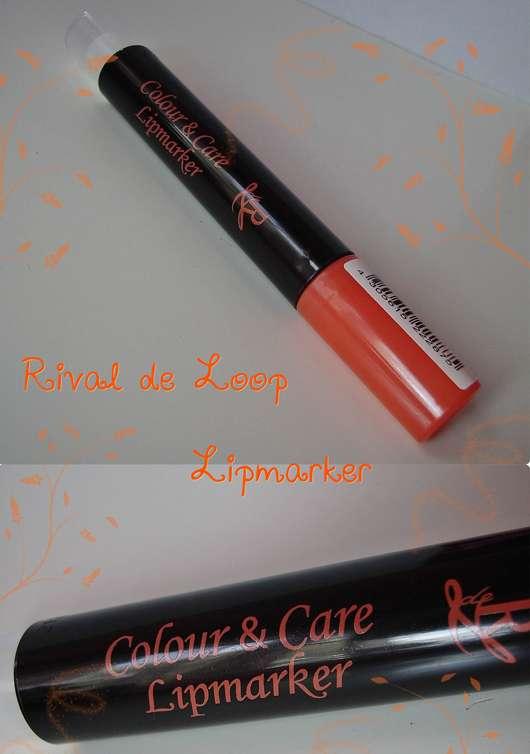 test lippenstift rival de loop colour care lipmarker farbe 01 coral testbericht von. Black Bedroom Furniture Sets. Home Design Ideas