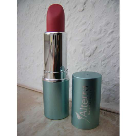 test lippenstift alterra lippenstift farbe 14 tulip testbericht von sunny 993. Black Bedroom Furniture Sets. Home Design Ideas