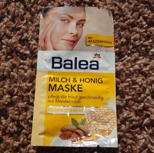 test maske balea milch honig maske testbericht von honigerdbeere. Black Bedroom Furniture Sets. Home Design Ideas