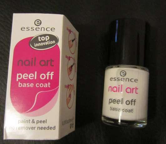 Best Nail Base Coat For Peeling Nails: Essence Nail Art Peel Off Base Coat
