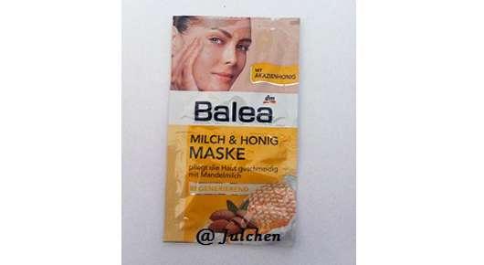 test maske balea milch honig maske regenerierend mit mandelmilch testbericht von. Black Bedroom Furniture Sets. Home Design Ideas