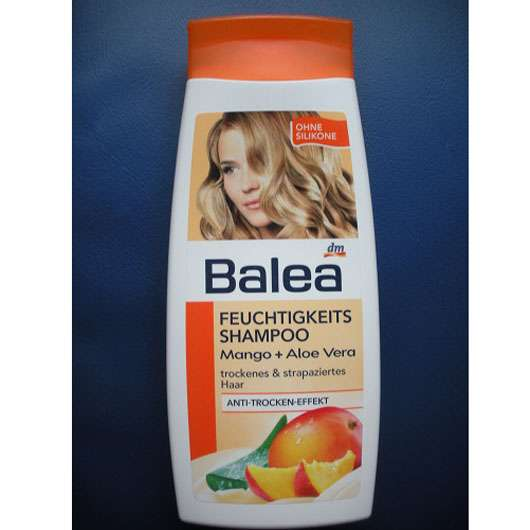 test shampoo balea feuchtigkeits shampoo mango aloe. Black Bedroom Furniture Sets. Home Design Ideas