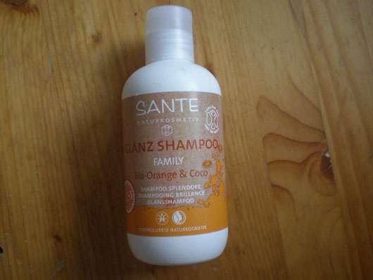 test shampoo sante family glanz shampoo bio orange coco testbericht von loebel. Black Bedroom Furniture Sets. Home Design Ideas
