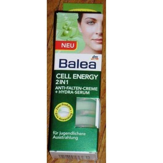 Test - Tagespflege - Balea Cell Energy 2in1 Anti-Falten..