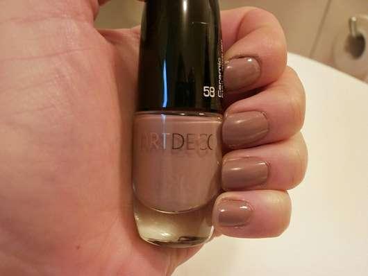 test nagellack artdeco ceramic nail lacquer farbe 58 mauve azalea testbericht von suppenhuhn. Black Bedroom Furniture Sets. Home Design Ideas