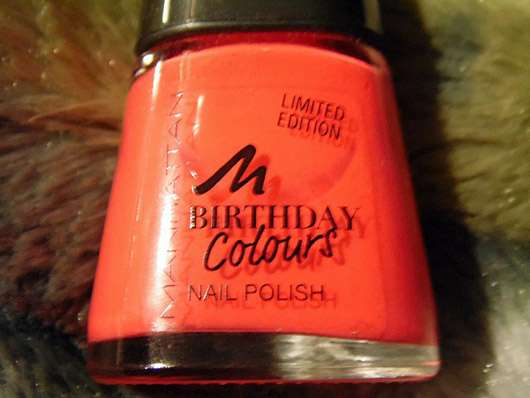 test nagellack manhattan birthday colours nail polish farbe 018 floral coral le. Black Bedroom Furniture Sets. Home Design Ideas