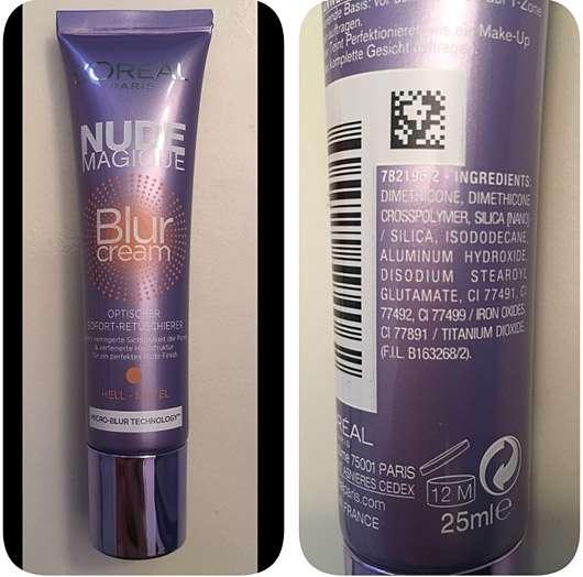 Loreal Nude Magique Blur Cream, Medium to Dark