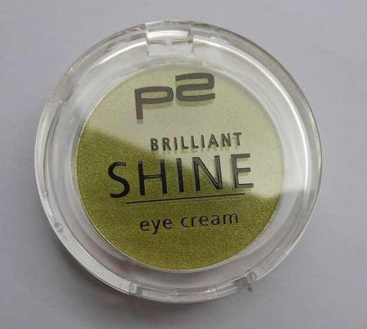test eyeshadow p2 brilliant shine eye cream farbe. Black Bedroom Furniture Sets. Home Design Ideas